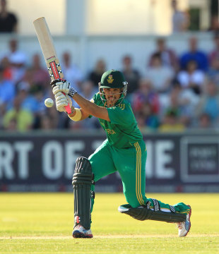 JP Duminy shared a match-winning stand with Jacques Kallis, 1st NatWest T20I, Chester-le-Street, September 8, 2012