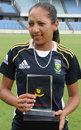 South Africa's Shabnim Ismail took 4 for 10, Bangladesh Women v South Africa Women, 3rd ODI, Dhaka, September 9, 2012