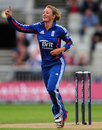 Danielle Wyatt dismissed both West Indies openers, England v West Indies, Women's T20 international, Old Trafford, September 10, 2012