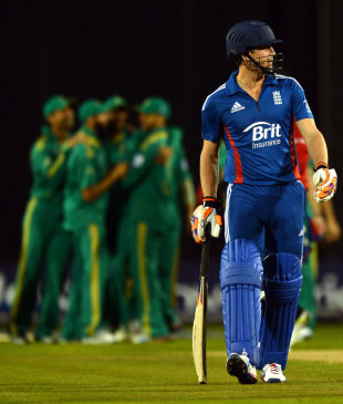 Craig Kieswetter made 1 off six balls, England v South Africa, 2nd NatWest T20I, Old Trafford, September 10, 2012
