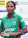 Salma Khatun was player of the match, Bangladesh Women v South Africa Women, 1st T20I, Dhaka, September 11, 2012