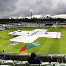 The covers were again in action at Edgbaston, England v South Africa, 3rd T20 international, Edgbaston, September 12, 2012
