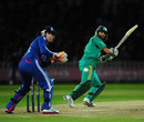 Hashim Amla was again the lead man for South Africa, England v South Africa, 3rd T20 international, Edgbaston, September 12, 2012