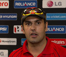 Mohammad Nabi talks to the media, World Twenty20 2012, Colombo, September 13, 2012