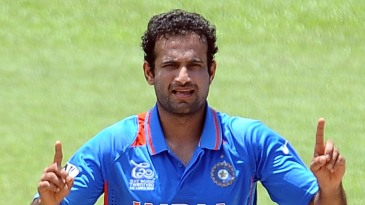 Irfan Pathan took 5 for 25 against Sri Lanka
