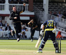 Ian Blackwell bowls Neil McKenzie, Hampshire v Warwickshire, CB40 Final, Lord's, September, 15, 2012