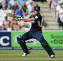 Sean Ervine added to his runs in Lord's finals with 57, Hampshire v Warwickshire, CB40 Final, Lord's, September, 15, 2012