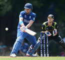Luke Wright gets inventive, Australia v England, World Twenty20 warm-up, Colombo, September 17, 2012