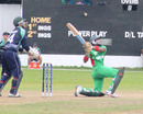 Shakib Al Hasan lofts a ball