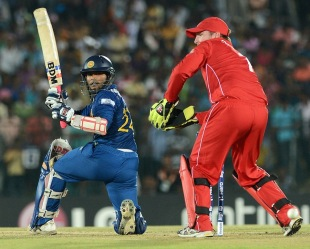 Dilshan Munaweera is a batsman who can clear the boundary, Ashantha de Mel said.
