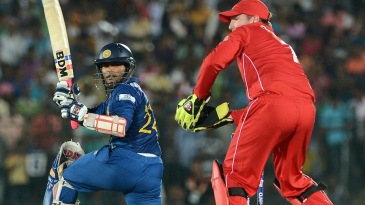 Dilshan Munaweera opened the innings in his debut match