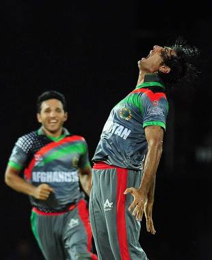 Shapoor Zadran gave Afghanistan an early high, Afghanistan v India, World T20, Group A, Colombo, September, 19, 2012