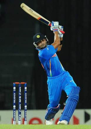 Virat Kohli was among the runs again, Afghanistan v India, World T20, Group A, Colombo, September, 19, 2012