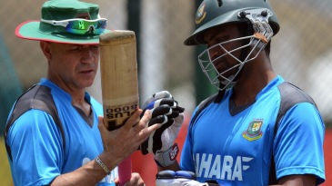 Richard Pybus examines Tamim Iqbal's bat