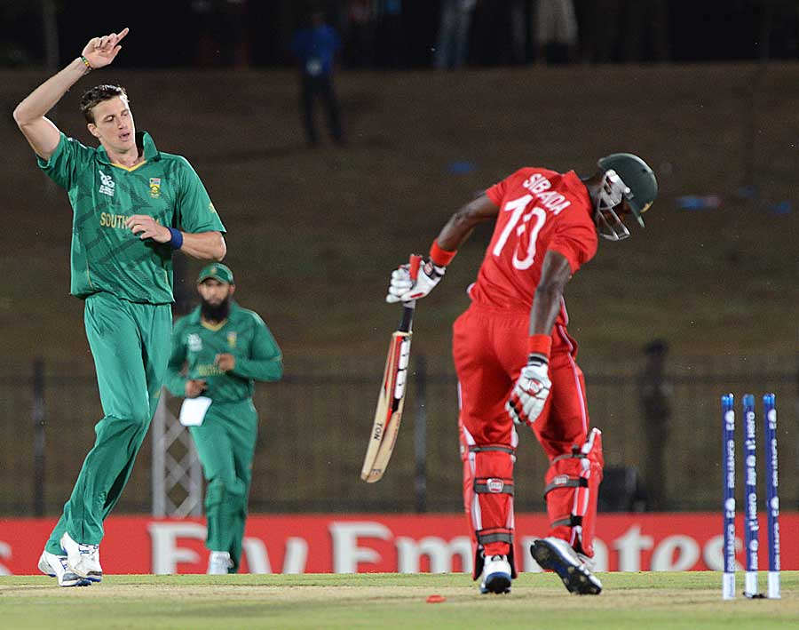 Morne Morkel got rid of Vusi Sibanda