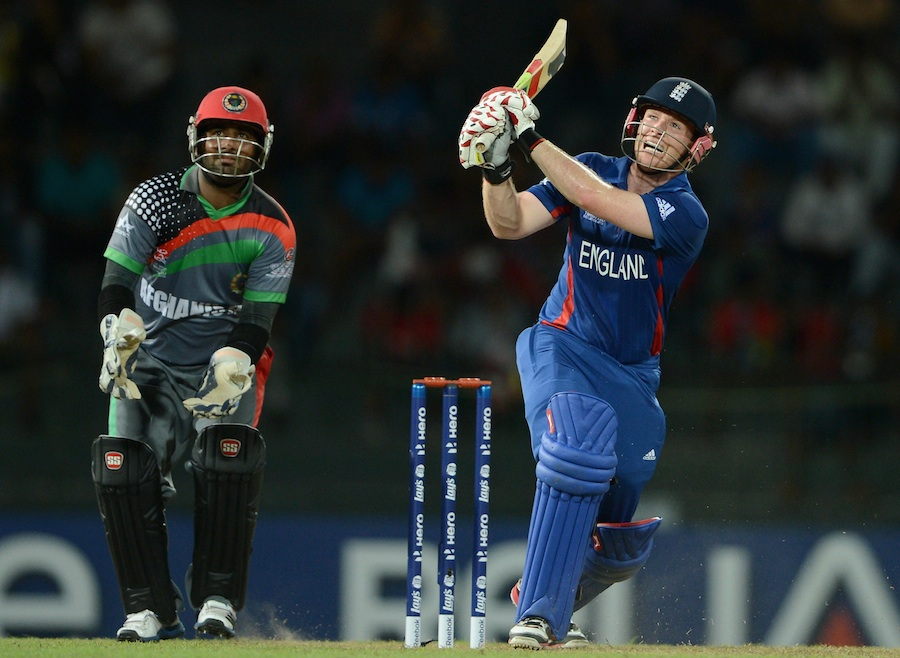 Eoin Morgan made 27 off 23 balls