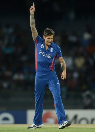 Jade Dernbach struck with his first ball, Afghanistan v England, World Twenty20 2012, Group A, Colombo, September 21, 2012