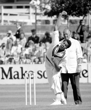 Colin Croft took 3 for 53, Sussex v Lancashire, semi-final, Gillette Cup, Hove, August 16, 1978