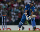 Kumar Sangakkara was Sri Lanka's joint-highest scorer with 13, Sri Lanka v South Africa, World Twenty20 2012, Group C, Hambantota, September 22, 2012