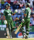 Mohammad Hafeez and Imran Nazir put on 47 in 34 balls for the first wicket