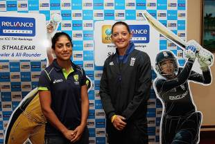 Lisa Sthalekar and Sarah Taylor head the bowling and batting T20I rankings respectively in women's cricket, Galle, September 24, 2012