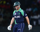 Kevin O'Brien walks back after being dismissed, Ireland v West Indies, World Twenty20 2012, Group B, September 24, 2012