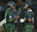 Mohammad Hafeez and Imran Nazir helped Pakistan to a strong start in their chase, Bangladesh v Pakistan, World Twenty20 2012, Group D, Pallekele, September 25, 2012