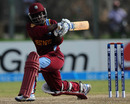 Deandra Dottin plays a ball towards the on side, New Zealand v West Indies, Women's World Twenty20 2012, Group B, Galle, September 26, 2012