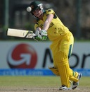Jess Cameron hits towards the leg-side, Australia v India, Women's World T20 2012, Group A, Galle, September 27, 2012