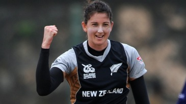 Nicola Browne picked up three wickets