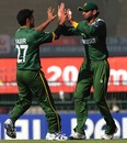 Yasir Arafat had Hashim Amla caught by Shoaib Malik, Pakistan v South Africa, World Twenty 20 2012, Super Eights, Colombo, September 28, 2012