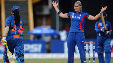Katherine Brunt's four overs cost just 16