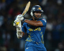 Kumar Sangakkara plays a shot, Sri Lanka v West Indies, Super Eights, World Twenty20 2012, Pallekele, September 29, 2012