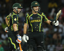 Shane Watson raises his bat after scoring fifty, Australia v South Africa, Super Eights, World Twenty20, Colombo, September 30, 2012