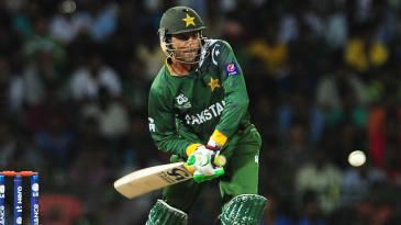 Shoaib Malik played a handy knock of 28