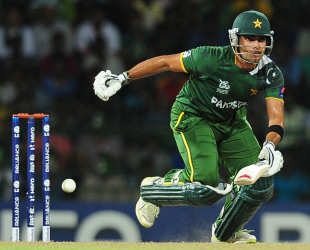 Umar Akmal scored 21, India v Pakistan, Super Eights, World Twenty20, Colombo, September 30, 2012