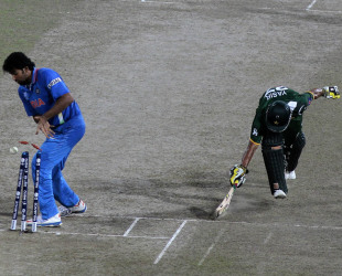 Pakistan falls short on the batting front and India, in the field