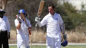 Gerrie Snyman scored a double-hundred