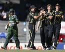 Shane Watson had Imran Nazir caught at mid-off