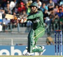 Abdul Razzaq goes for a pull-shot, Australia v Pakistan, Super Eights, World Twenty20 2012, Colombo, October 2, 2012