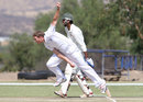 Christi Viljoen took three important wickets, Namibia v Kenya, ICC Intercontinental Cup, 4th day, Windhoek, October 2, 2012