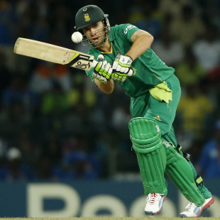AB de Villiers scored 13, India v South Africa, Super Eights, World Twenty20, Colombo, October 2, 2012
