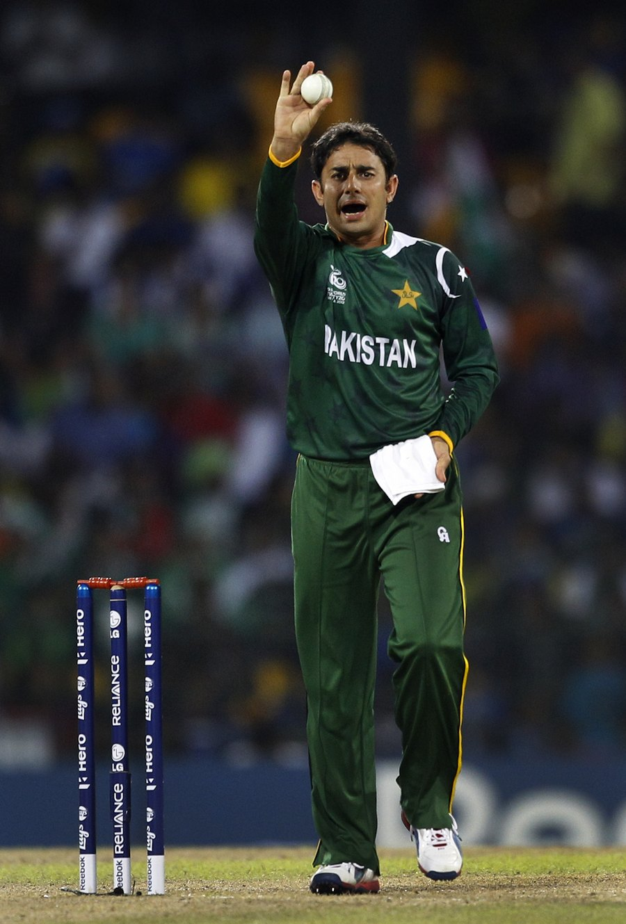 Saeed Ajmal was expensive in the semi-final