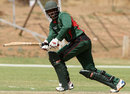 Tanmay Mishra made an unbeaten 34, Kenya v Namibia, World Cricket League Championship, Windhoek, October 4, 2012