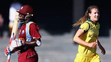 Ellyse Perry picked up the wicket of Stafanie Taylor