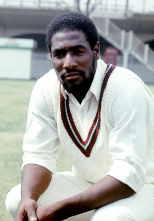Viv Richards at Lord's at the start of the 1976 tour of England, Lord's, May 10,  1976