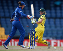 Alyssa Healy was bowled for 26, Australia v England, final, Women's World Twenty20, Colombo, October 7, 2012