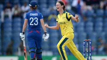 Julie Hunter celebrates dismissing Laura Marsh