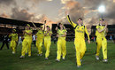 Australia Women do a lap of honour