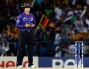 Simon Taufel in his final game as an international umpire, Sri Lanka v West Indies, final, World Twenty20, Colombo, October 7, 2012